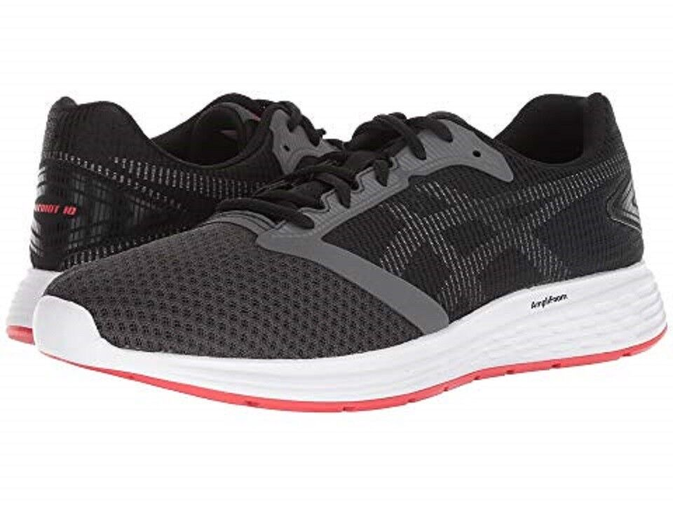 ASICS 1011A131.021 PATRIOT Mn's (M) Dark-Grey Red Mesh Running shoes