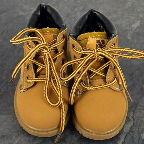 12 months Baby boy boots shoes tan brown 2 years