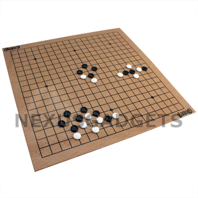 Go Board Game Travel Set Play Stones Pieces Portable Fun Japanese Games Capture