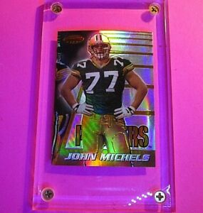1996 Bowman's Best REFRACTOR John Michels #157 Rookie RC Packers USC