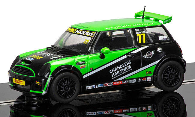 Scalextric Mini Cooper S No77 Mini Challenge 2015 Donington Park C3743 New