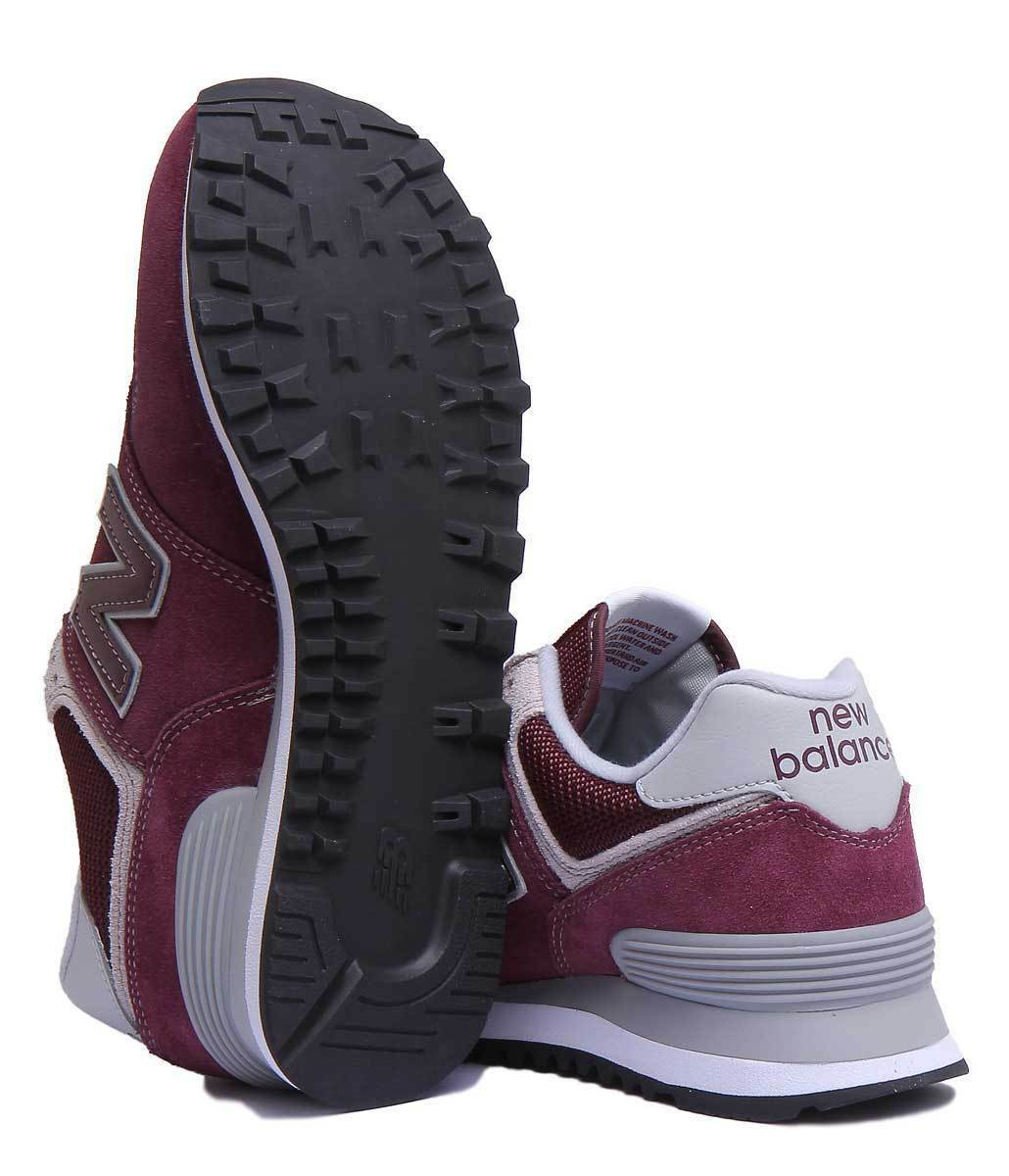 New Balance ML574EGB Vintage Classic Women Sizes Miscellaneous Burgundy Trainers Sizes Women af6c2f