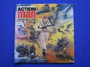 Panini Action Man Sticker 1983 No 1