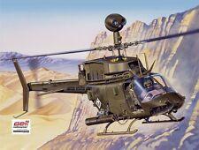 Italeri 1/48 Bell OH-58D Kiowa Helicopter  #2704 *new*
