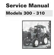 Belarus 300 Amp 310 Tractor Manual Set Service Parts Amp Operator Maint Manual