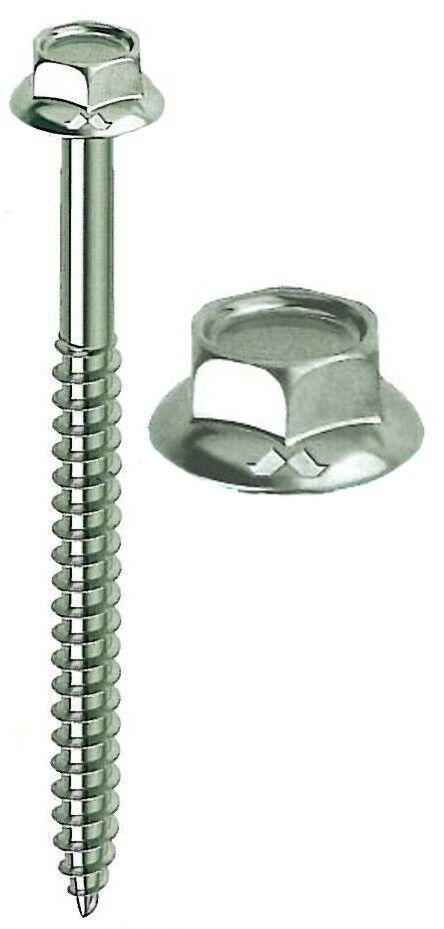 in cromo lucido per interruttore della luce o presa elettrica Viti lunghe di alta qualit/à M3,5 x 30 mm x 50 mm x 70 mm