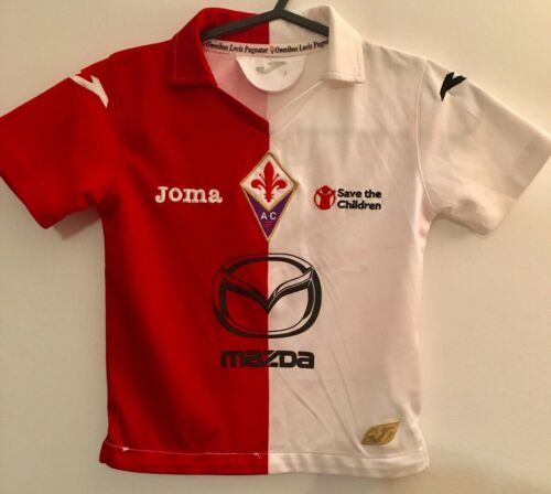GENUINE FIORENTINA FOOTBALL SOCCER THIRD AWAY SHIRT YOUTH 3 YEARS OLD 20122013