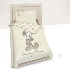 Bettwäsche set Disney Mickey Mouse 140 x 200 cm beige 100 % Cotton