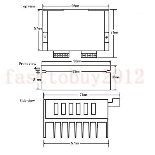 CNC 1.8Degree NEMA17 2Ph 4-wire Stepper Motor 1.5A TB6600 Driver 34mm 3D Printer