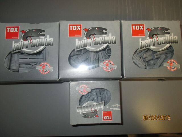 TOX Spreizdübel Barracuda im Karton verschieden Größen zur Auswahl