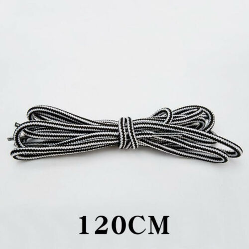 Unisex Rope Multi Color Waxed Round Cord Dress Shoe Laces  120 CM 47 inch