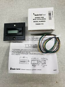 VEEDER ROOT 79998D-110 DIGITAL COUNTER