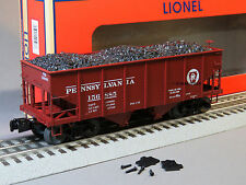 LIONEL PRR SCALE GLA 50 TON TWIN HOPPER 156885 coal 81686 o gauge train 6-81694