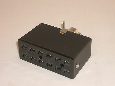 CINCH JONES BEAU MOLEX S-2404-CCT 38541-8404 POWER SOCKET 4 PIN DRAKE TR-7 PS-7