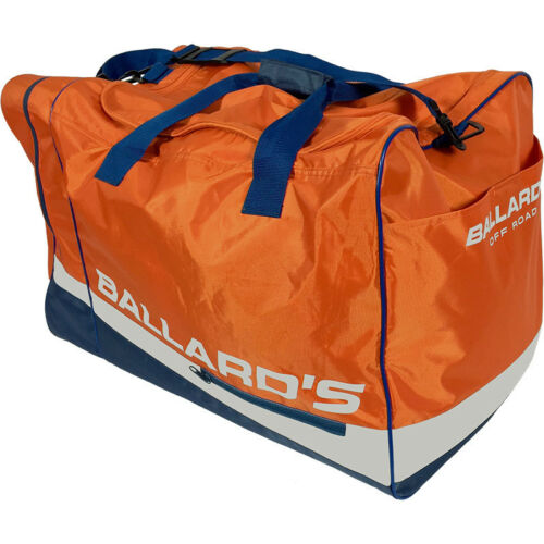 Ballards NEW MX Dirt Bike Too Easy Orange Travel Luggage Gear Bag