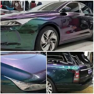 decal color change strip purple Green