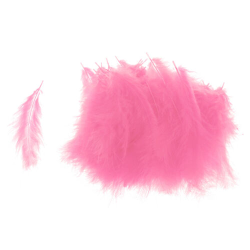 Blesiya 100pcs Craft Feather Bobo Balloon Feather Ornaments Balloon Accessory
