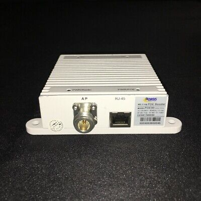 Renasis POE30 Power Ethernet Amplifier Booster 2.4 wifi 1 watt POE