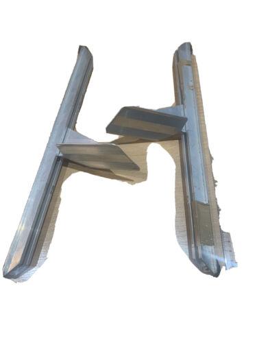 New Aluminium Kayak Footrests Keeper Style