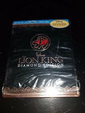 The Lion King 3D+2D Blu-ray + DVD + Digital 4-Disc VIVA Metal Box Steelbook New+
