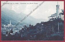 BERGAMO CLUSONE 55 MONTE CROSIO - VAL SERIANA Cartolina viaggiata