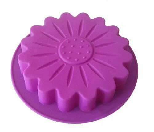 Big Round Sunflower Silicone Cake Baking Molds Mousse Cake Pans Making Mold Tray