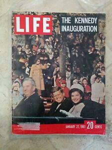 Life Magazine January 21st 1961 President John F. Kennedy Inauguration