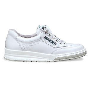 Mephisto-Match-White-Comfort-Walking-Shoe-Men-039-s-Size-7-15-NEW