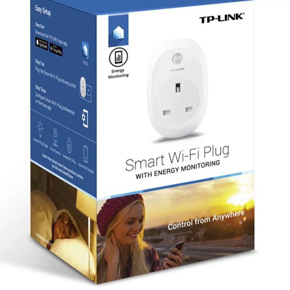 TP-LINK (HS110) Wi-Fi SMART PLUG & ENERGIE MONITOR - AMAZON ECHO KOMPATIBEL