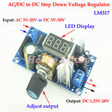Acdc To Dc Buck Adjustable Step Down Converter 33v 5v 12v 24v Volt Regulator