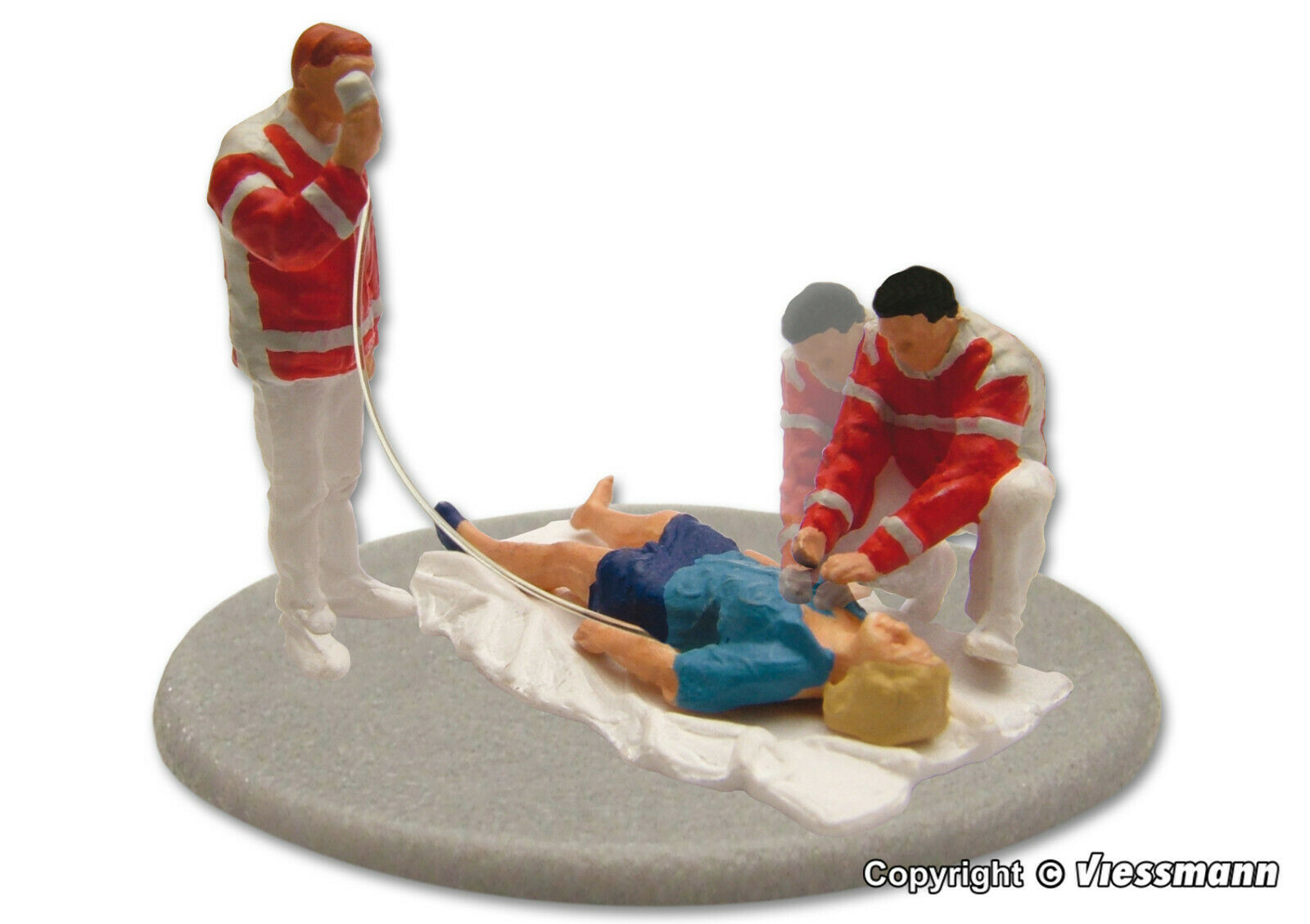 Viessmann eMotion Paramedics in Action 1540 HO Scale