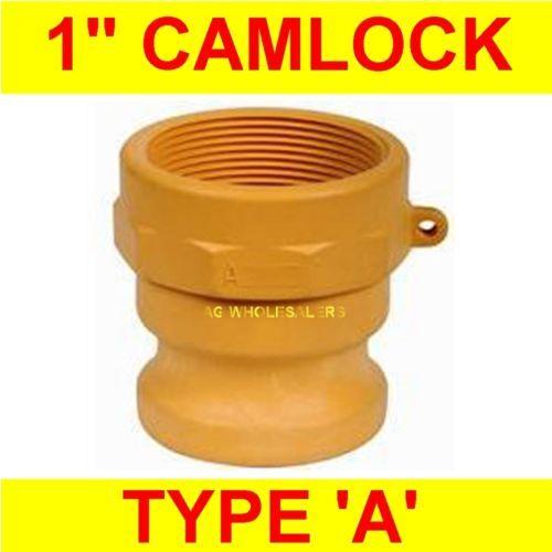 CAMLOCK NYLON TYPE A 1 -CAM LOCK IRRIGATION FITTING