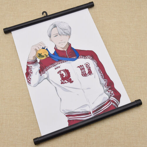 Anime Poster YURI!! on ICE Wall Scroll Painting Home Decor Cosplay Gift