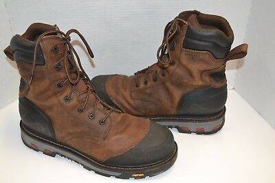 Justin Work BROWN Boots Men's WARHAWK