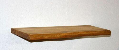 Massivholz Wand-board 90cm Wildeiche geölt Küchen Hänge regal Fenster-brett bank