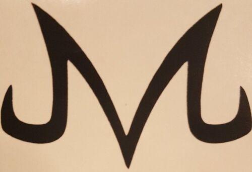 Majin M Logo Vinyl Sticker Decal choose size//color DBZ