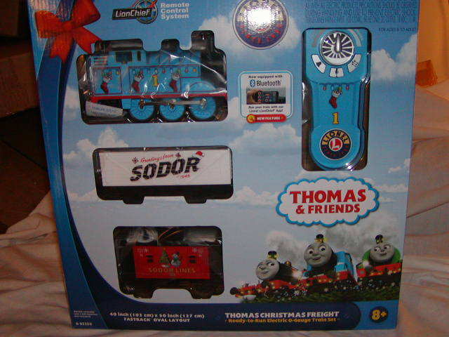 Lionel 6-85324 Thomas Amigos Navidad Remoto Train Set O-27 sin usar, en Caja 2018 azultooth