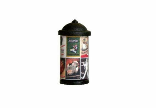 Litfaßsäule mit Beleuchtung Werbesäule 20 mm 40er bis 90 Jahren Bilder 118951