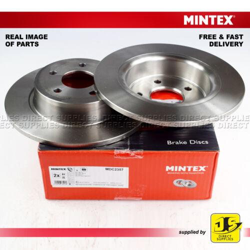 2X Mintex Trasero Frenos de Disco MDC2357 Para Ford C-MAX II Grand Tourneo Transit KA +