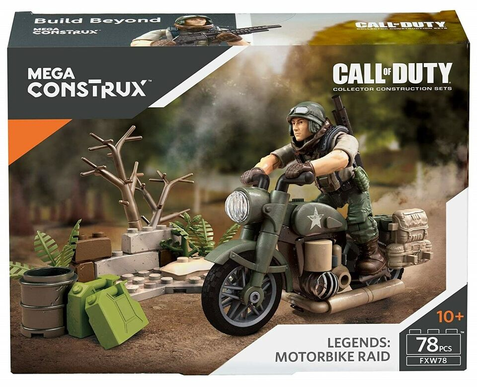 Byggesæt, Call of Duty - Motorbike Raid, Mega Construx