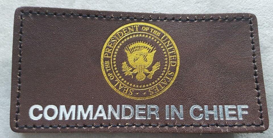 Militær, Commander in chief
