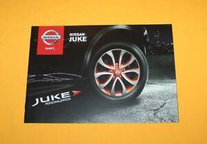 Nissan-Juke-Zubehoer-2013-Prospekt-Brochure-Catalog-Depliant-Folder-Prospetto