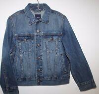 Gap Kids Boy Girl S M L 6 7 8 9 10 11 Denim Jean Jacket W/ Washed Finish