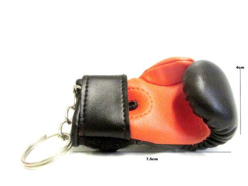 New Boxing Gloves Keychain keyring Sporting Gloves MMA Muay Thai Gloves Key Ring