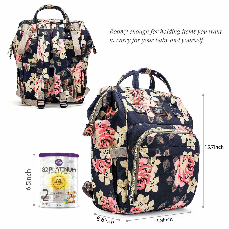 Mummy Maternity Nappy Baby Diaper Bag Big Travel Nursing Bac