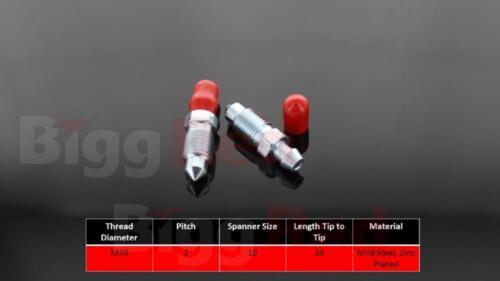 Bleed screws various applications M10 x 1 BRB880017