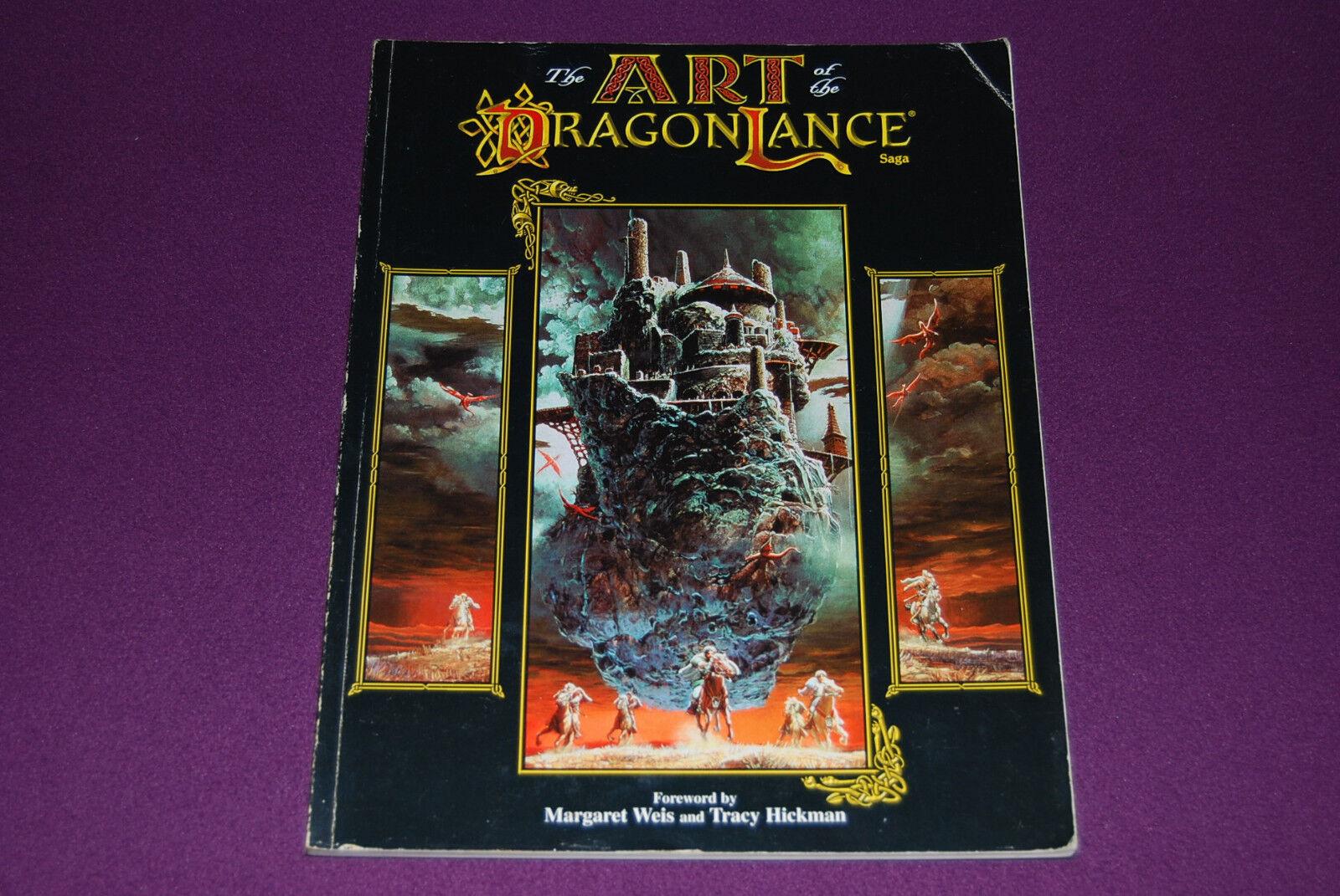 AD&D RPG JDR Jeu de Role - Dragonlance   The Art of the Dragonlance Saga 2nd Ed.