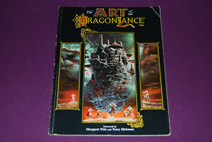 AD-amp-D-RPG-JDR-Jeu-de-Role-Dragonlance-The-Art-of-the-Dragonlance-Saga-2nd-Ed