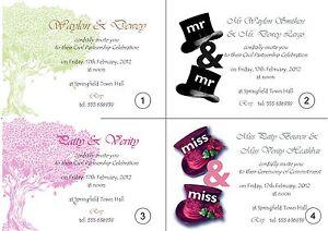 Personalised-Civil-Partnership-Invitation-Cards-50-invites-with-envelopes