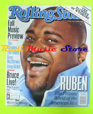 ROLLING STONE USA MAGAZINE 929/2003 Ruben Steven Tyler Jesse Jordan  No cd
